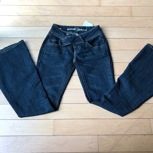 Mossimo fit and flare jeans sz